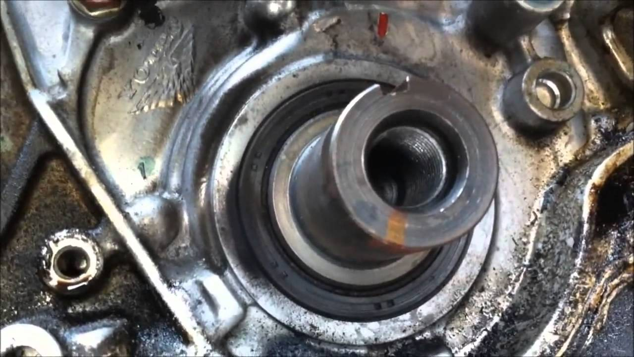 Pt 2 Of 2 Timing Belt Service 7th Gen Honda Civic Youtube