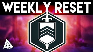 Destiny Weekly Reset - Nightfall, Court of Oryx & More | 27th October