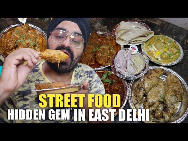 Tandoori, Fried & Tawa VEG street food in Jheel, East Delhi