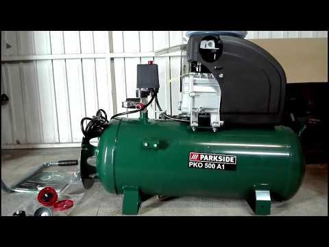 Unboxing E Recensione Compressore Parkside Pko 500 A1 Lidl