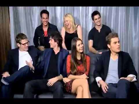 The Vampire Diaries Season 4 Comic Con 2012 EW