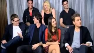 The Vampire Diaries Season 4 Comic Con 2012 EW Interview