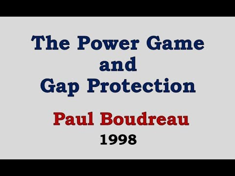 The Power Game and Gap Protection - Paul Boudreau 1998