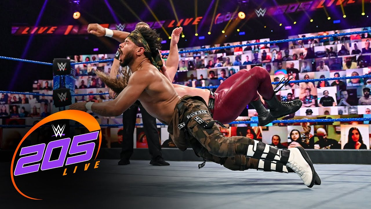 "Ashante ""Thee"" Adonis vs. Brian Kendrick: 205 Live, Sept. 11, 2020"