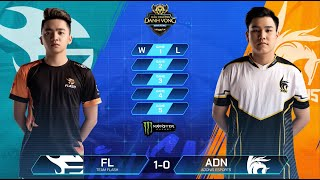 Team Flash vs Adonis Esports | FL vs ADN [Vòng 6 - 11.08] - ĐTDV Mùa Đông 2019