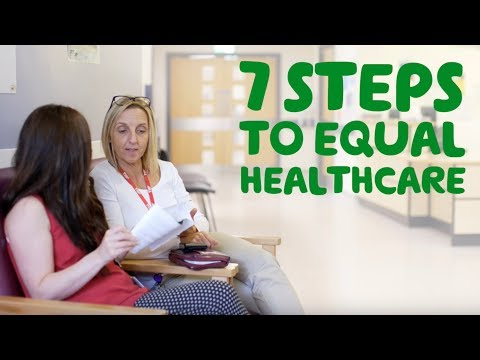 7 steps to equal healthcare (Health professional)
