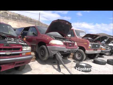 Junkyard Salvage Yard Junk Cars Old Car Scrapyard Video Scrap #2