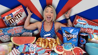 ULTIMATE 4TH OF JULY FOOD CHALLENGE