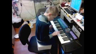 Иван Чернов. Репертуар 1-го месяца обучения в 4-й музыкальной школе