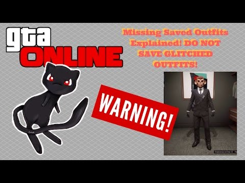 GTA Online WARNING! MISSING SAVED OUTFITS EXPLAINED?! Is Rockstar Removing GLITCHED Outfits?!