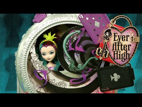 Ever After High Way Too Wonderland Playset 2 Playing Card Tables Doll Furniture