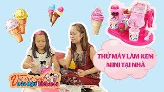 Bào Ngư và Victoria - Trò chơi máy làm kem và cái kết bất ngờ