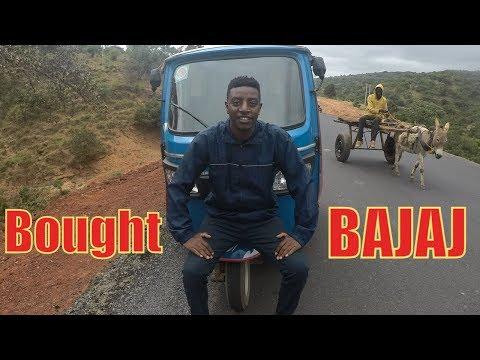We bought BAJAJ Cab in Ethiopia (travel vlog part 5)