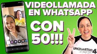 Videollamadas con 50 PERSONAS en WHATSAPP!! (y WhatsApp Web)   ChicaGeek
