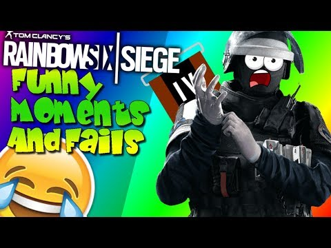 Funny Moments and Fails   Rainbow Six Siege   [HIGHLIGHTS #11] Deutsch/German   LetzDomsel