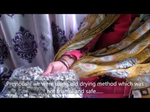 KFZ Solar Produce Dryer Success Story - Panjwayi District