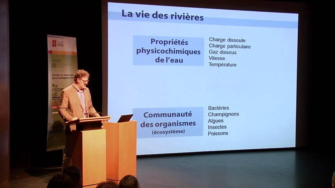 François Anctil - Réflexion sur nos responsabilités face à la gestion intégrée de l'eau (2/4)