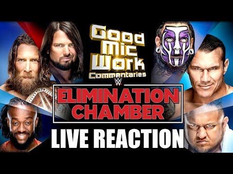 WWE Elimination Chamber 2019 LIVE REACTION