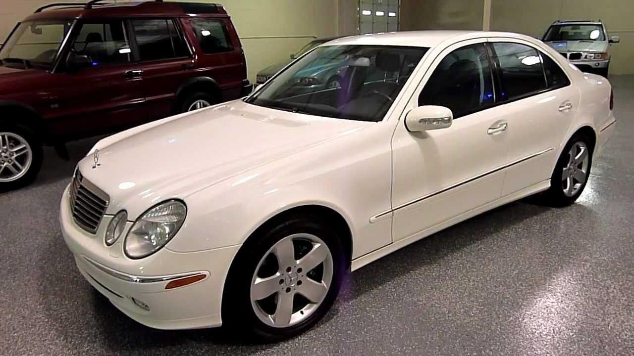 2004 mercedes benz e500 4dr sedan 5 0l 4matic 2061 sold youtube. Black Bedroom Furniture Sets. Home Design Ideas