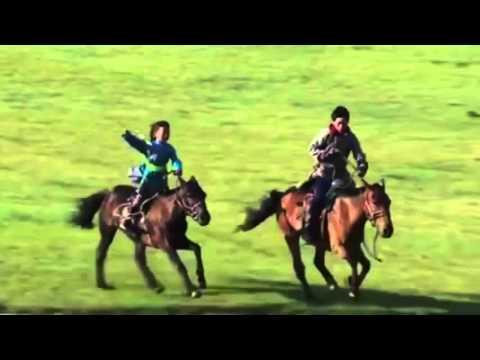 Amazing mongolian children