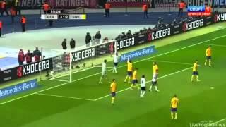Alemania 4 - 4 Suecia Rumbo al mundial 2014