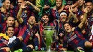все голы Barcelona в Лиге Чемпионов 2015-2016