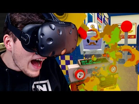 ICH KOTZE DEN KOMPLETTEN LADEN VOLL ✪ JOB SIMULATOR Virtual Reality