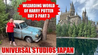 UNIVERSAL STUDIOS JAPAN | THE WIZARDING WORLD OF HARRY POTTER UNIVERSAL STUDIOS JAPAN | DAY 3 PART 3