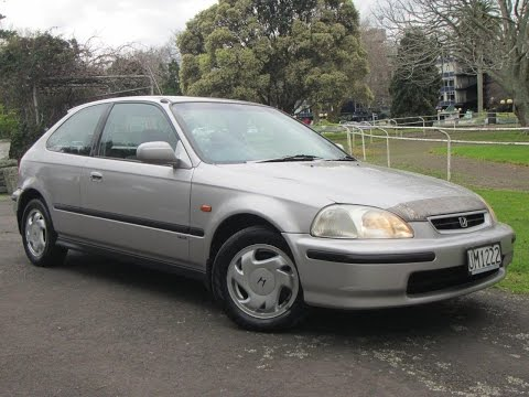 1996 Honda Civic NZ New Manual Vtec Hatchback ** Cash4Cars ** ** SOLD **