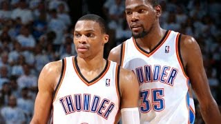 Top 10 kevin durant - russell westbrook connections