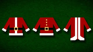 [Appearance Series] 01 Types of Santa Suits