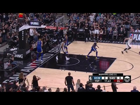 1st Quarter, One Box Video: San Antonio Spurs vs. Golden State Warriors