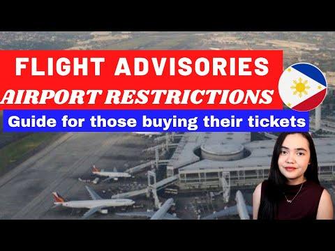 PHILIPPINE FLIGHT & AIRPORT ADVISORIES FOR ALL TRAVELLERS | INTERNATIONAL FLIGHTS | COMMUNITY RULES
