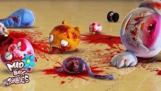 - Film animasi zombie Kekacauan yang disebabkan oleh gigi palsu Mad Box Zombies