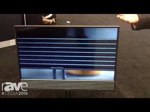 CEDIA 2016: Bang & Olufsen Features BeoVision Horizon TV