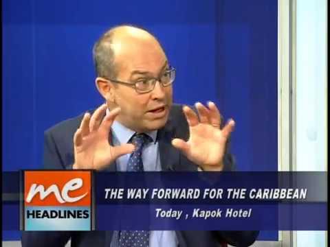 Interview on CCNTV6 (Trinidad) with Prof. Oura, Dr. Degia & Bay-C - Host Fazeer Mohammed