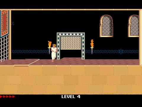 Prince of Persia 1 - Mirrored Levels (Jordan Mechner,) - Level 04