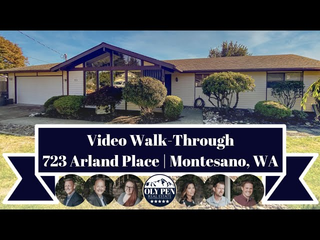 723 Arland Place | Montesano, WA | Video Walk-Through