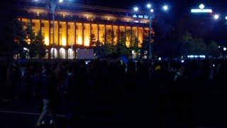 Protest #rezist! Piata Victoriei e plina! - Curaj.TV