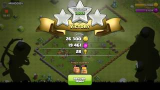 Clash of clans 0 to titan. Bye