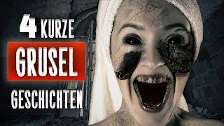 Cover images 🎧 4 Kurze GRUSEL Geschichten - Grusel/Horror #Hörbuch - #Creepypasta