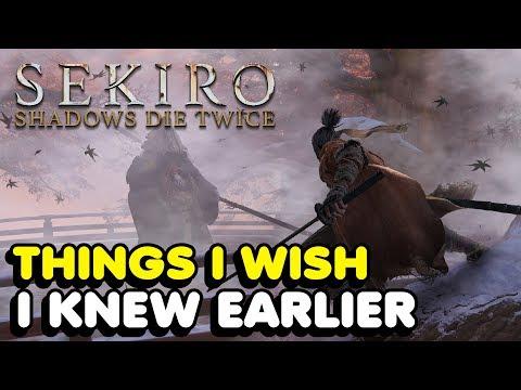 Things I Wish I knew Earlier In Sekiro: Shadows Die Twice (Tips & Tricks) *BOSS FIGHT SPOILERS* thumbnail