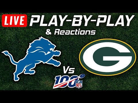 Lions Vs Packers | Live Play-By-Play & Reactions