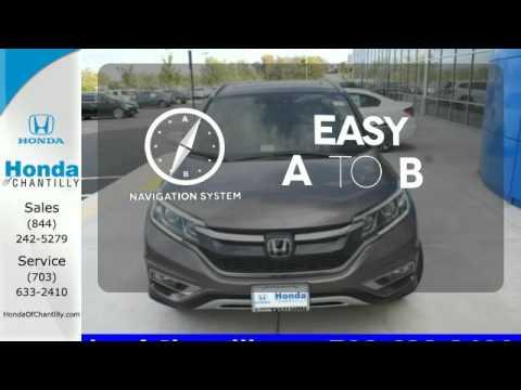 Superior 2015 Honda CR V VA   Honda Dealer Serving Northern Virginia   SOLD