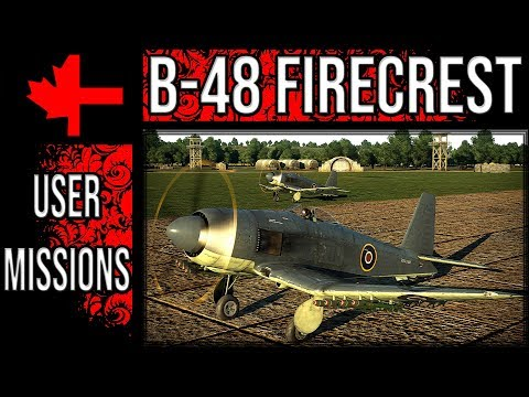 War Thunder - The Blackburn B-48 Firecrest In Game