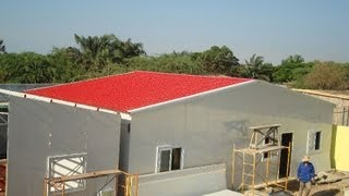 Steel Prefab Homes Kits Sandwich Panels For Self Building