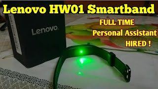 Lenovo HW01 Fitness Band Review | Full-time Personal Assistant