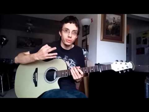 Majesty - Jack Hayford (Guitar Tutorial) (Hymn)