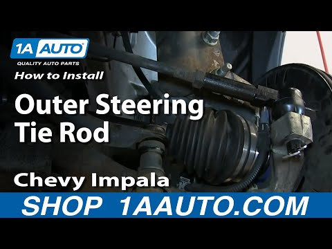 How to Replace Tie Rod 00-13 Chevy Impala