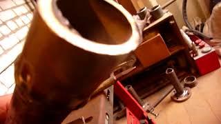 Сварка нержавеющей трубы с черной трубой